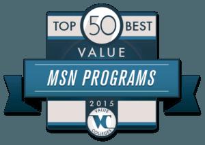 Top 50 Best Value MSN Programs of 2015