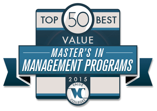 Best Value Master\'s in Management Degree Programs Ranking