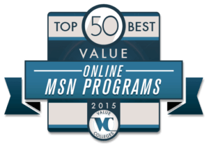 Top 50 Best Value Online MSN Programs of 2015