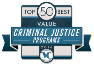 Top 50 Best Value Criminal Justice Programs of 2016