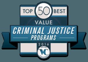 Top 50 Best Value Criminal Justice Programs of 2016