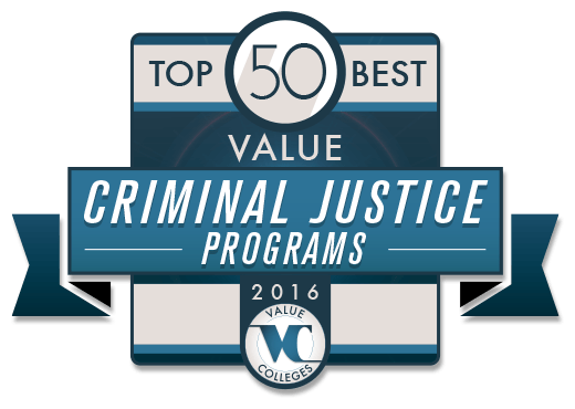 Top 50 best value undergraduate criminal justice programs value top 50 best value criminal justice programs of 2016 fandeluxe Choice Image