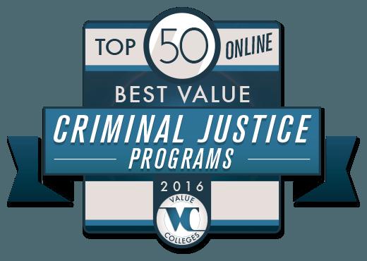 Top 50 Best Value Online Undergraduate Criminal Justice Programs