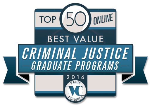 Online Criminal Justice Master's Degrees at a Glance