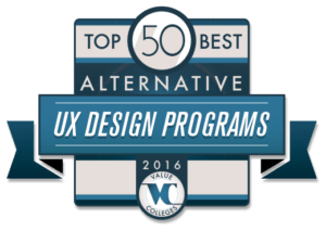 Top 50 Alternative UX Design Programs of 2016