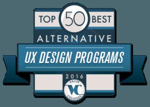 Top 50 Alternative UX Design Programs