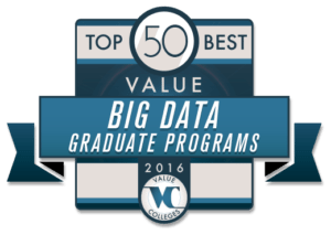 Top 50 Best Value Big Data Graduate Programs of 2016