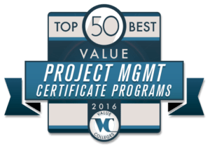 Ranking of top 50 best value project management certificate programs top 50 best value project management certificate programs yadclub Image collections