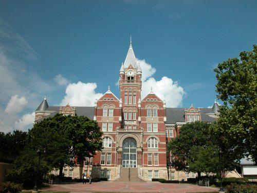 Davis Administration Building (front facade), Friends University