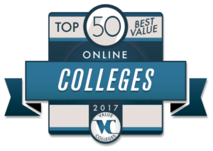 Top 50 Best Value Online Colleges for 2017