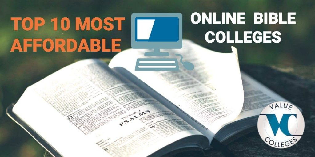 Top 10 Most Affordable Online Bible Colleges | Value Colleges