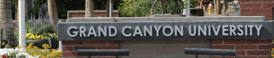 grand canyon university organizational values