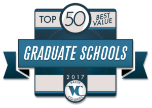 Top 50 Best Value Graduate Schools for 2017