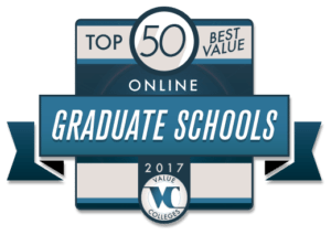 Top 50 Best Value Online Graduate Schools for 2017
