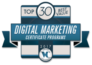 top-30-best-value-digital-marketing-certificate-programs-for-2017