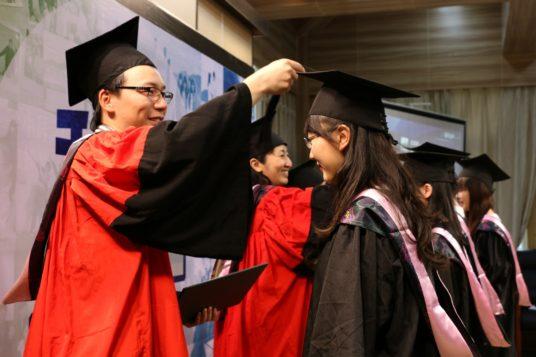 graduates university students