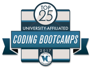 Top 25 University-Affiliated Coding Boot Camps for 2017