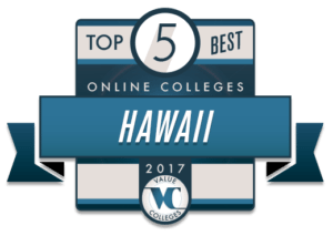 Top 10 Best Online Colleges 2017 - HAWAII