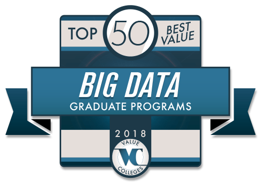 Top 50 Best Value Big Data Graduate Programs 2018