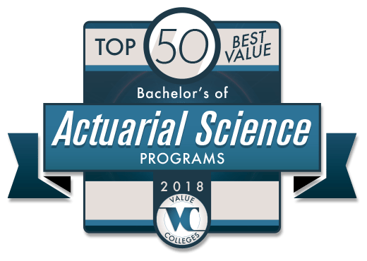 top 50 best value bachelor u2019s of actuarial science programs