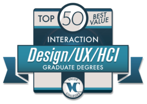 Top 50 Best Value Interaction Design/UX/HCI Graduate Degrees 2018 Degree Map Gwu on