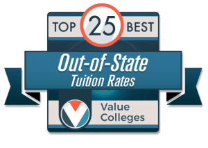 colleges with low out of state tuition