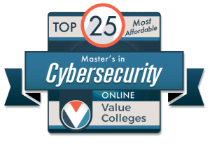 Top 25 Most Affordable Online Master's in Cybersecurity 2019