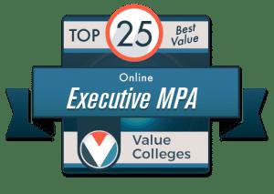 executive mpa programs online