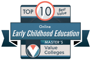 Best Value Colleges 2020 Top 10 Best Online Master's in Early Childhood Education Degrees