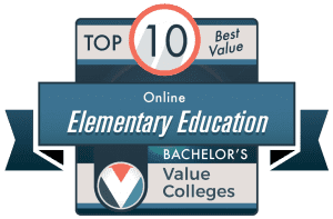 Best Value Colleges 2020 Top 10 Best Online Bachelor's in Elementary Education Degrees for 2020