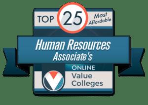 human resources associate's degree online